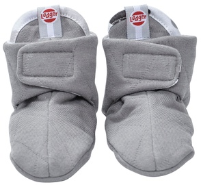 Lodger Slipper Cotton Grey 3-6m