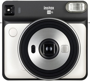 Fujifilm Instax Square 6 Pearl White + Instax Square Glossy