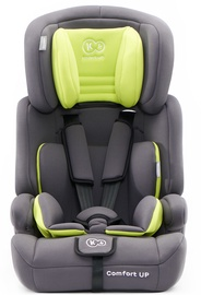 Turvahäll KinderKraft Comfort Up Lime, 9 - 36 kg