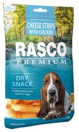Rasco Dog Premium Snacks Cheese Strips With Chicken 80g