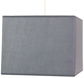 Candellux Basic Hanging Ceiling Lamp 60W E27 Gray