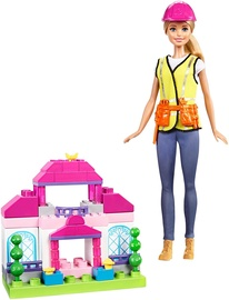 Mattel Barbie Builder Doll & Playset FCP76