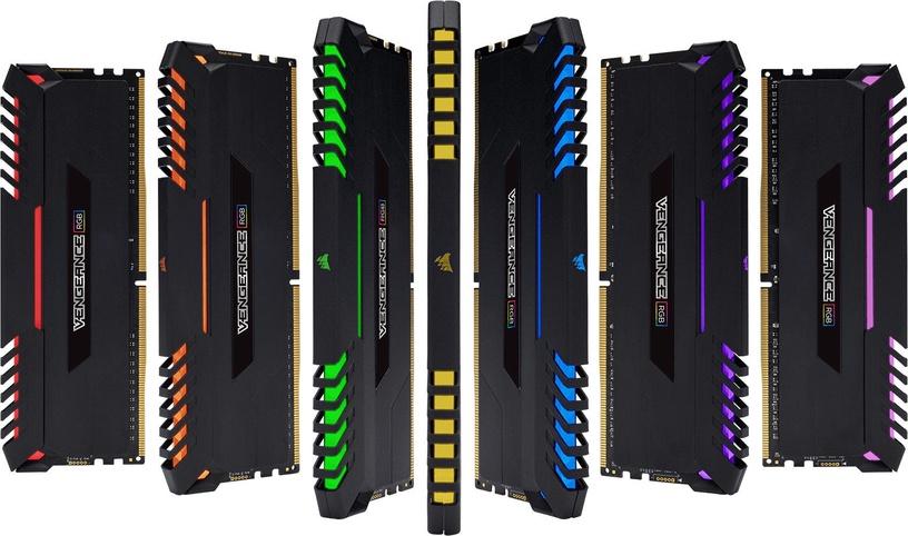 Corsair Vengeance RGB LED Series 64GB 3333MHz CL16 DDR4 KIT OF 4 CMR64GX4M4C3333C16