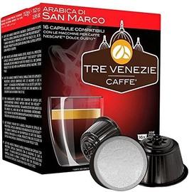 Cafee Tre Venezie Arabica Di San Marco komposteeritavad kohvikapslid, 16 kapslit