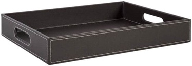 Home4you Pencil Case Walter 30x40xH6cm Dark Brown