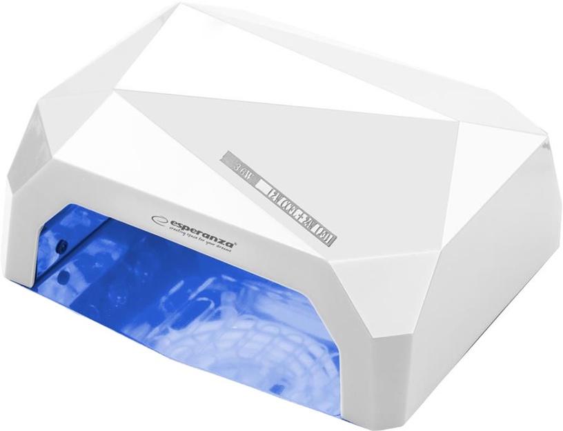UV LED lamp küüntele Esperanza Onyx EBN002 White