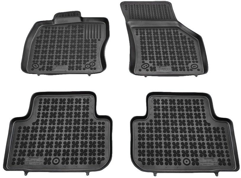 REZAW-PLAST VW Golf VII Sportsvan 2014 Rubber Floor Mats