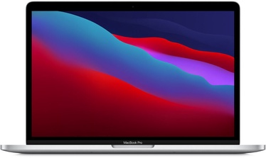 """Sülearvuti Apple MacBook Pro Retina with Touch Bar / M1 / ENG / Silver, 8GB/512GB, 13.3"""""""