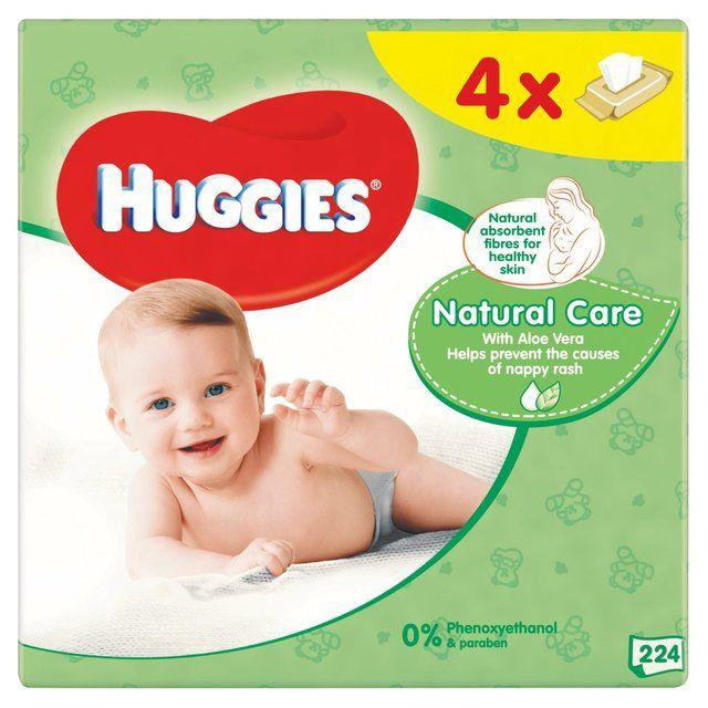 Huggies Natural Care 224pcs