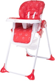 4Baby High Chair Decco Red