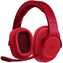 Logitech G433 Gaming Headphones Red