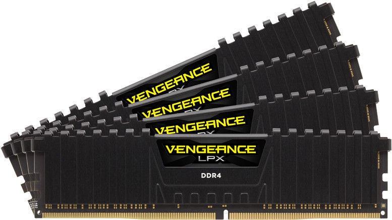 Corsair Vengeance LPX Black 64GB 2400MHz CL16 DDR4 KIT OF 4 CMK64GX4M4A2400C16