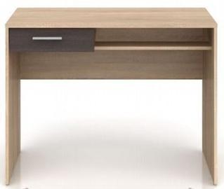 Письменный стол Black Red White Nepo Plus Sonoma Oak/Wenge