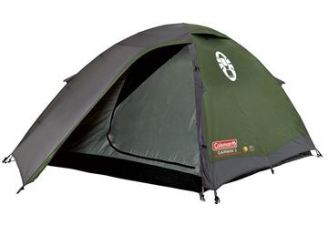 3-местная палатка Coleman Darwin 3 2000012146, зеленый/серый