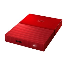 Western Digital 1TB My Passport USB 3.0 Red WDBYNN0010BRD-WESN