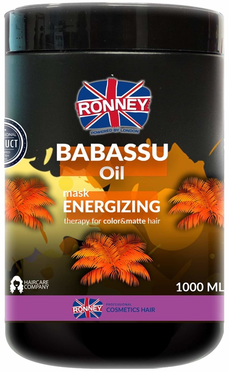 Ronney Babassu Oil Energizing Hair Mask 1000ml