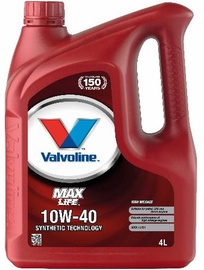Valvoline MaxLife 10w40 Engine Oil 4L