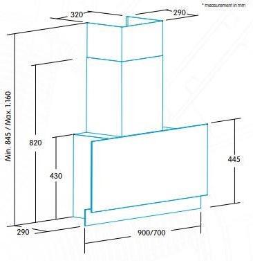 Õhupuhasti Edesa ECV-9832 GBK