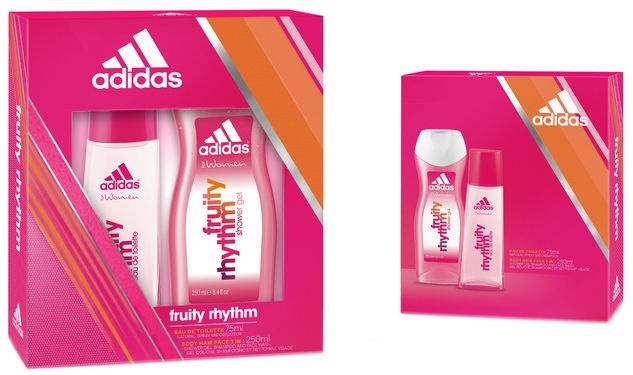Adidas Fruity Rhythm 75ml EDT + 250ml Shower Gel