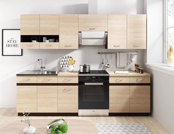 WIPMEB Livia Kitchen 240 Sonoma Oak