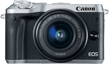 Canon EOS M6 + EF-M 15-45mm IS STM Silver