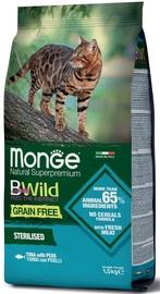 Monge BWild Grain Free Sterilised Tuna & Peas 1.5kg