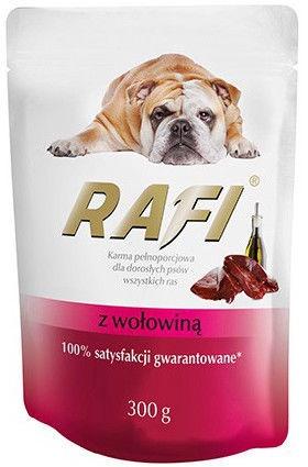 Rafi Dog Wet Food Beef 300g