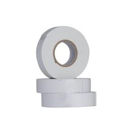 Haushalt Double Sided Adhesive Tape 25m White