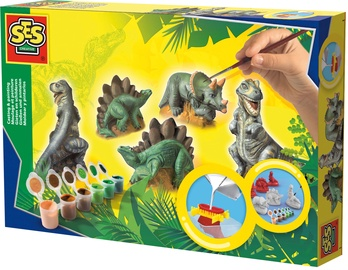 SES Creative Children's Dinosaurs Casting & Painting Set 01406