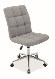 Signal Meble Q-020 Office Chair Light Grey