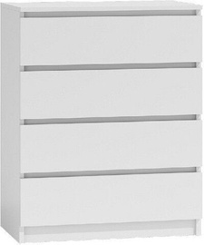 Kummut Top E Shop Malwa M4 White, 70x40x97 cm