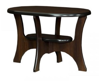Bodzio S11 Oval Coffee Table Walnut