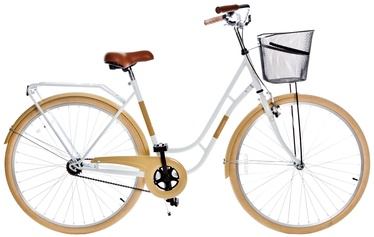 Jalgratas Grunberg Holland Single Speed 28 White/Beige 16