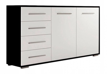 Idzczak Meble Frida Chest Of Drawers Black/White