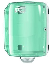 Tork Maxi Centrefeed Dispenser White/Turquoise