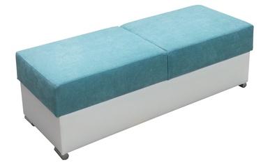 Tumba Idzczak Meble Grand Blue/White, 140x53x45 cm