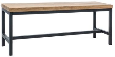 Kingariiul Signal Meble Loras Dab/Black, 1200x350x450 mm