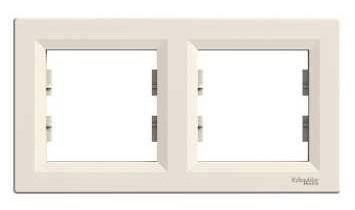 Schneider Electric Asfora Two Way Frame EPH5800223 Cream