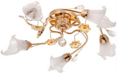 Verners Ceiling Lamp 12980CG/5H Gold