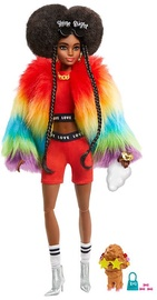 Nukk Barbie Extra Rainbow Coat With Poodle GVR04