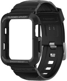 Spigen Rugged Armor PRO For Apple Watch 1/2/3 42mm Black