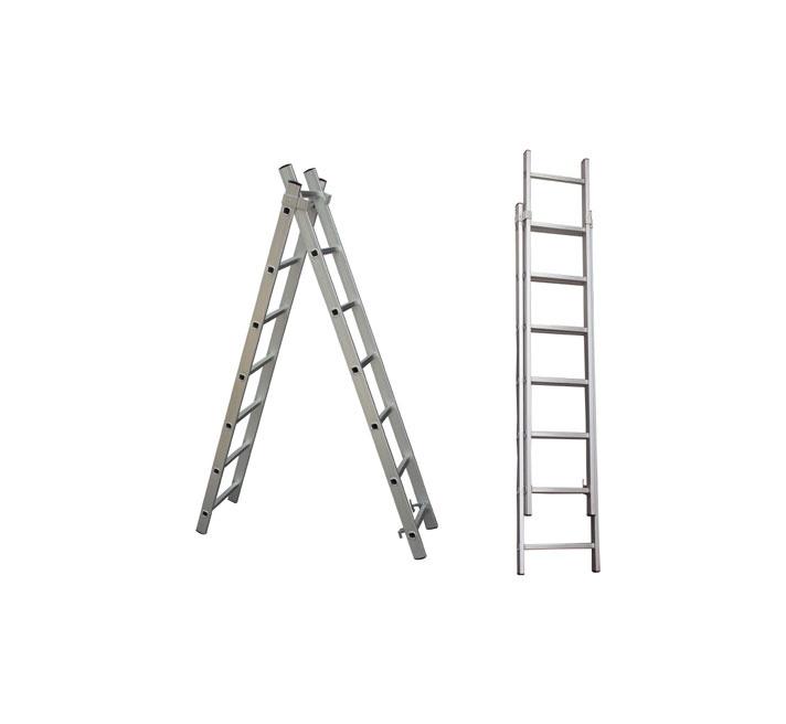 HausHalt BL-E207 Double-Sided 7-Steps Ladders