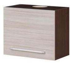 Bodzio Loara Upper Cabinet 60x43cm Latte/Nut
