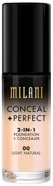 Milani Conceal + Perfect 2in1 Foundation + Concealer 30ml 00