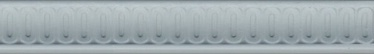 Керамическая полоска на стену Kerama Marazzi Kerama Marazzi Borromeo Blue BOA007, керамическая, 250 мм x 40 мм