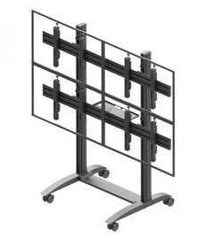 edbak VWTA2247-L Trolley Video Wall 42-47""