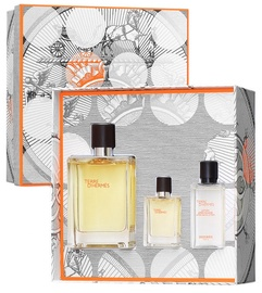 Hermes Terre D Hermes 100ml EDT + 12.5ml EDT + 40ml Aftershave Lotion