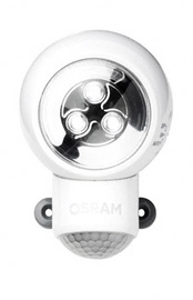 Osram Led Nightlights Spylux 0.23W 4.5V 7000K 3Led 5mm Moving Sensor White