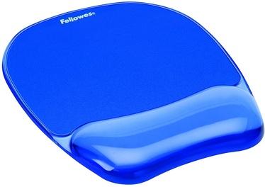 Fellowes Gel Crystal Blue Wrist Rest 9114120