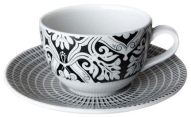Claytan Gracewins Tea Cup And Saucer 25cl